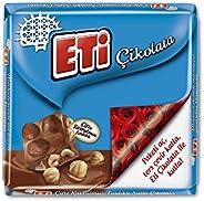 Eti Çifte Kavrulmuş Fındıklı Sütlü Çikolata 60 g