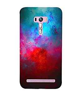 For Asus Zenfone Selfie ZD551KL abstract, abstract background, colored abstract Designer Printed High Quality Smooth Matte Protective Mobile Case Back Pouch Cover by APEX ELEGANT