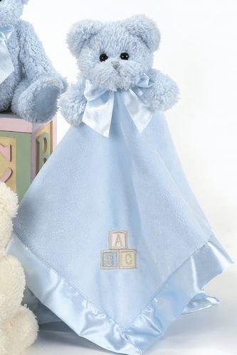 Bearington Baby FESTE UMARMUNGEN blaue Sicherheits-Decke