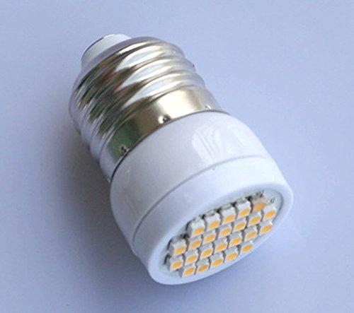 Preisvergleich Produktbild E27 24 LED 3528 SMD Mais Lampe Strahler Birne Warmweiß 230V 1.8W
