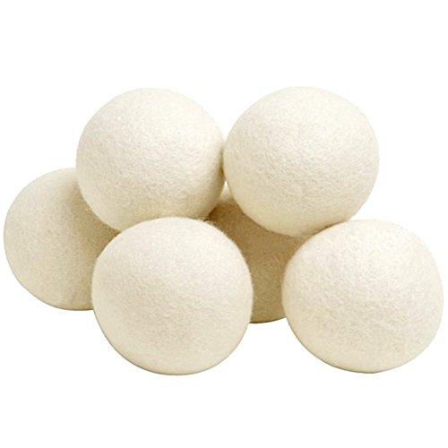 bolas de secado de lana para secadoras