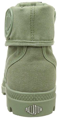 Palladium  Pallabrouse Baggy, Hohe Sneakers femme Vert (Oil Green/silver Birch)