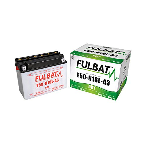 Fulbat - Batteria moto Y50-N18L-A3 / F50-N18L-A3 12V 20Ah