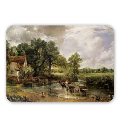 The Hay Wain, 1821 (oil on canvas) by John.. -
