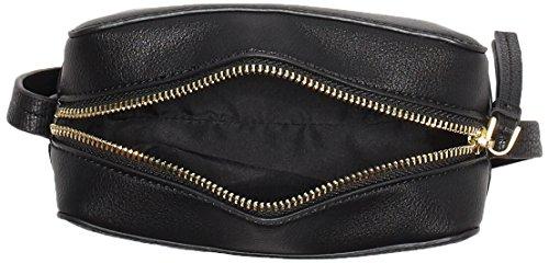 Calvin Klein - Le4 Small Crossover, Borse a tracolla Donna Nero (Black)