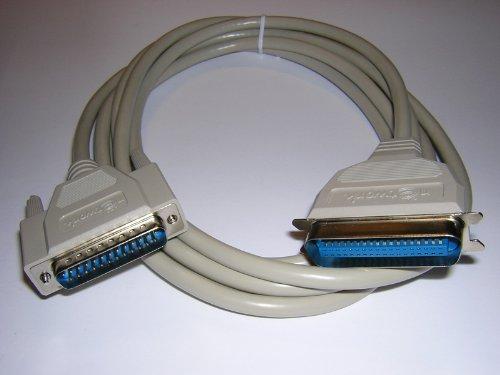 3m Druckerkabel, 25pol SUB-D auf 36pol Centronics, doppelt geschirmt (Parallel-kabel)