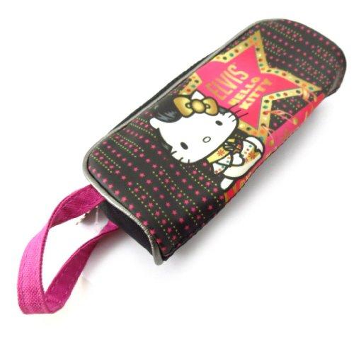 Scuola kit \'Hello Kitty\' rosa nero.