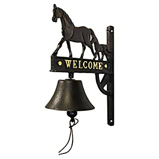 Aljec AFSBH Horse and Foal Wall Bell - Multi-Colour