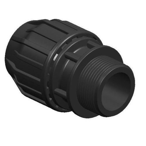 Mdpe Eau Raccord de tuyau adaptateur mâle 20 mm x 3/10,2 cm