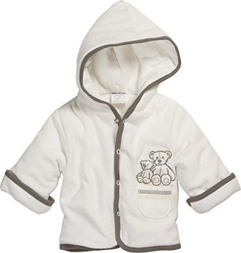 Schnizler Unisex Baby Jacke Jäckchen Nicki Bär Wattiert, Oeko-Tex Standard 100, Beige (Natur 2), 74