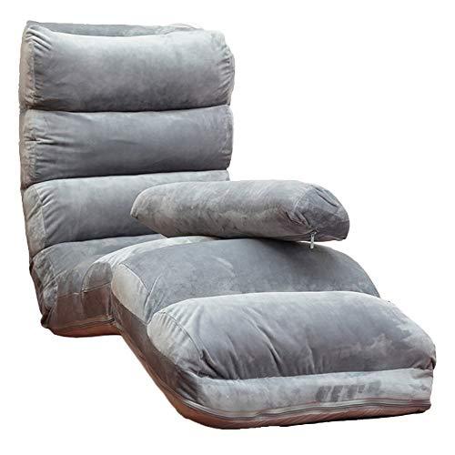 KJRJSF Plegable Lazy Sofa Chair Sofá con Estilo Sofá Camas Lounge Lounge...