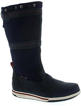 Sebago Triton Sailing Boot Waterproof, Navy Leather / Ariaprene B810023 Men
