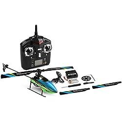 WLtoys V911S 4CH 6G no alerones RC Avión Helicóptero alerón Aviones del Mando a Distancia con la Hoja de Aviones Cargador USB