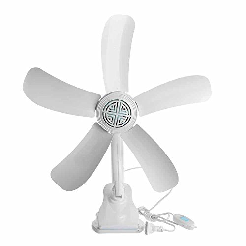 Kaxima Blatt-Clip Ventilator Rauch Fan Mini-Ventilator Ventilator Wandventilator
