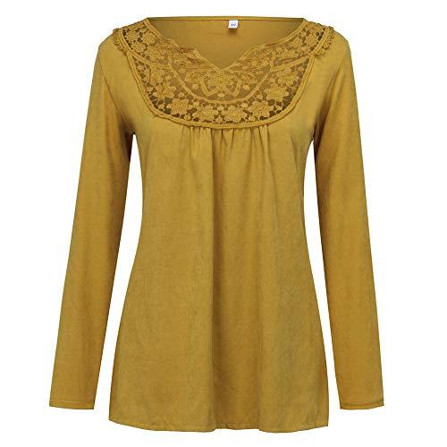 manadlian Camisas Mujer Tallas Grandes, Blusa de Mujer con Cuello...