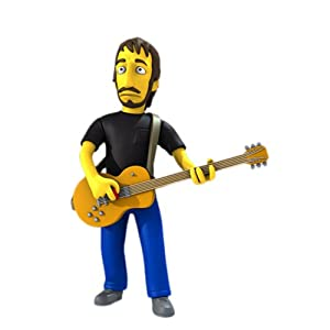 NECA Simpsons 25th Anniversary - Pete Townshend 12,5 cm Action Figure Series 2 3