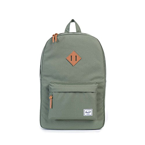 Herschel Supply Company SS16 Casual Daypack, 23 Liters, Deep Litchen Green/Tan