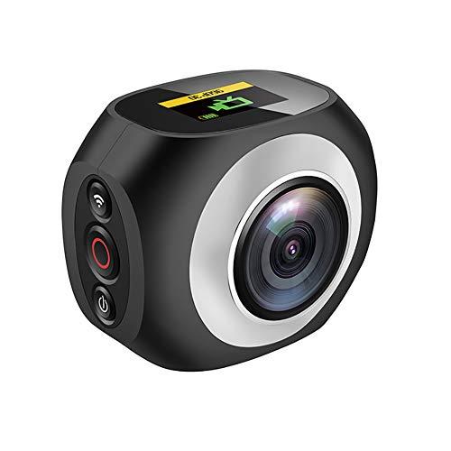 LuckyZA 4K 360 Grados cámara acción panorámica