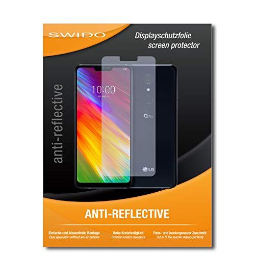 SWIDO Displayschutz für LG G7 Fit [4 Stück] Anti-Reflex MATT Entspiegelnd, Hoher Härtegrad, Schutz vor Kratzer/Glasfolie, Schutzfolie, Displayschutzfolie, Panzerglas Folie