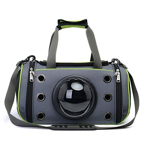 Anap Luxury Pet Carrier Sitz für Hunde und Katzen - Soft Sided Portable Airplane Tote Bag Rucksack (größe : L) -