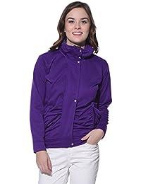 Purys Purple Winter Fleece Jacket