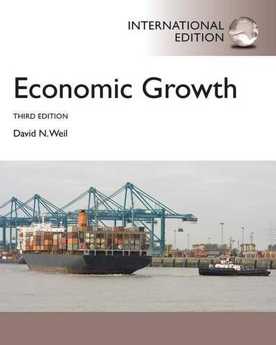 Economic Growth: International Student Edition (International Edition)
