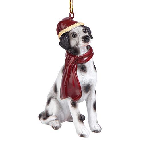 Design Toscano Christmas Ornaments, Weihnachten dalmatinischen Ferienhundeornamente -