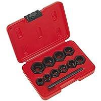 Sealey ak8183perno Extractor Set 11pc llaves tipo