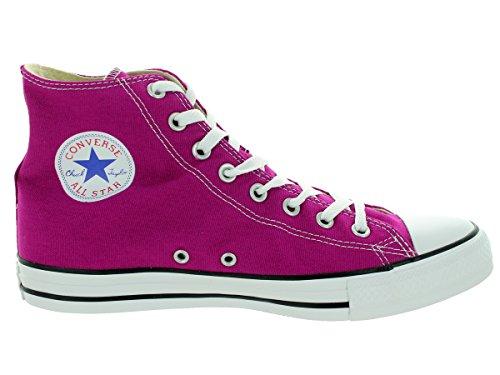 Converse Ct Print Hi, Herren Sneakers Pink Sapphire