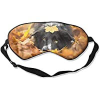 Black Dog Autumn Yellow Leaves Sleep Eyes Masks - Comfortable Sleeping Mask Eye Cover For Travelling Night Noon... preisvergleich bei billige-tabletten.eu