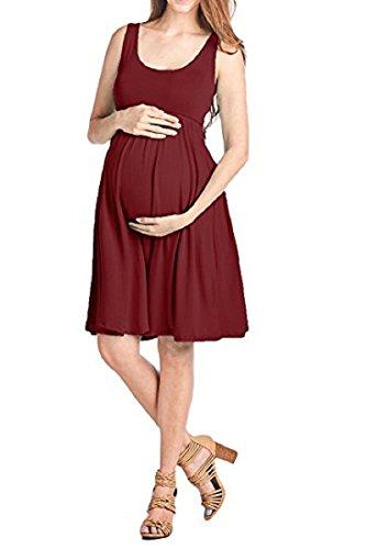Femmes Enceinte Maternité Féminine à Manches Courtes en Photographie Déguisement Vêtements de Grossesse Robe de Soirée Longue Seule