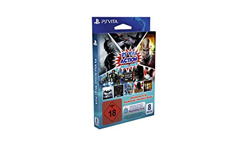 PS Vita - Speicherkarte 8GB Mega Pack Action
