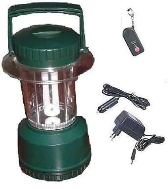 Lanterne rechargeable avec t l commande ir for Luminaire exterieur rechargeable