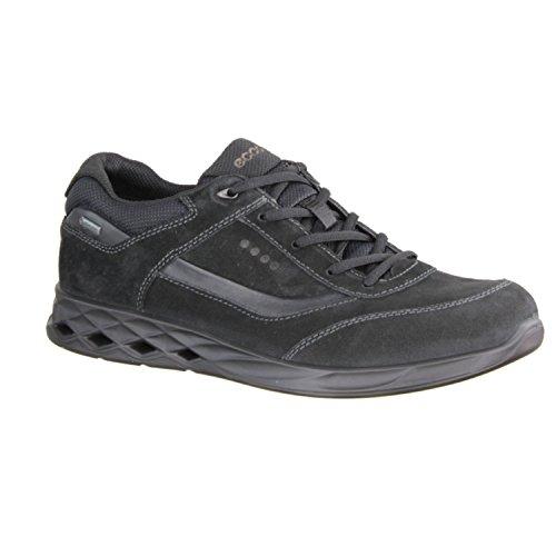 ECCO Wayfly, Scarpe Sportive Outdoor Uomo Nero (Black/black)