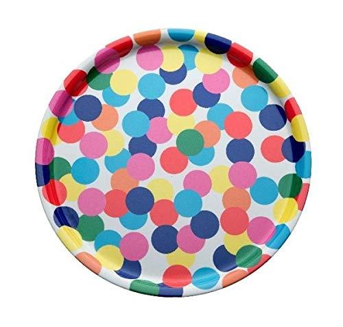 Alessi AM40 1 Tablett, Mehrfarben Alessandro Mendini Alessi