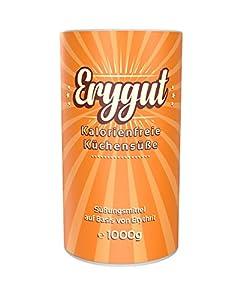 Erygut Basic 1kg / 1000g | Kalorienfreier Zuckerersatz aus Erythrit |...