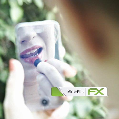 atFoliX Protección de Pantalla para Leagoo M8 Pro Lámina protectora Espejo - FX-Mirror Protector Película con efecto espejo