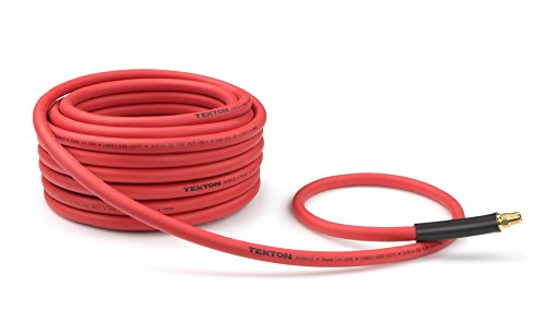 TEKTON 46137 Druckluftschlauch, Hybrid-Druckluft-Schlauch, 15 m, 300 PSI, 3/8 Zoll, 9,5 mm -
