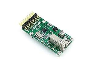 Waveshare USB3300 USB HS Board Host OTG PHY Low Pin ULPI MIC2075-1BM Onboard Evaluation Development Module Kit