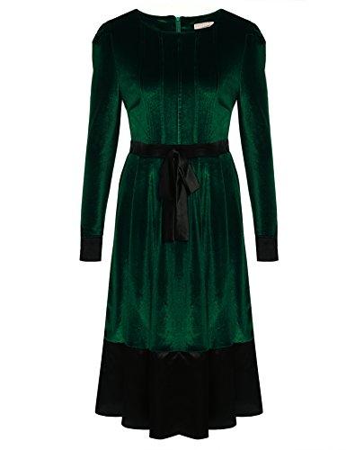 cooshional - Robe - Crayon - Femme Vert