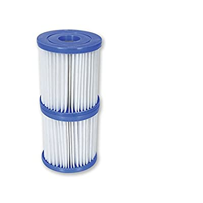 Bestway 58093 Size I Filter Cartridge - 3.1 x 3.5 Inches - Blue/white