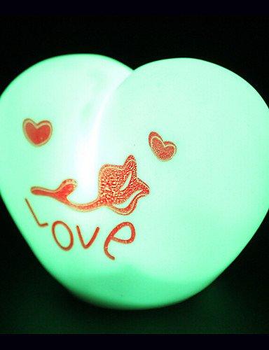 ZQ amore colore cangiante creativo la luce variopinta di notte ha portato