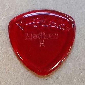 v-picks Medium Rund Ruby Rot 2,75mm Gitarre Plektrum Plektron Picks (X3) mrrr3W/Bonus RIS Plektrum (V-picks Plektren)