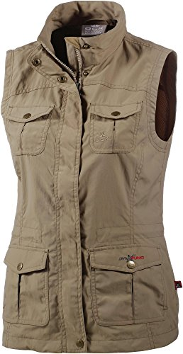 OCK Damen Outdoorweste beige 46