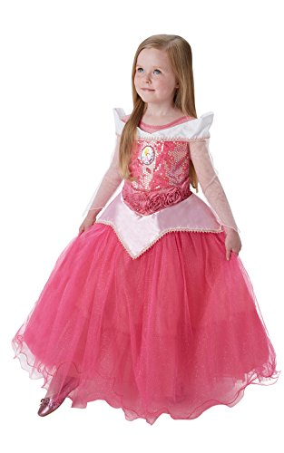 Disney Princess Sleeping Beauty Premium Aurora, Kind Kostüm – Kleine (Aurora Kostüm Von Disney)
