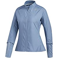 adidas RS Wind Jkt W Chaqueta, Mujer, Gris, S