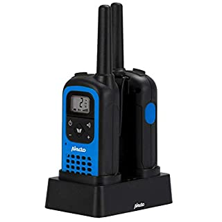 Alecto FR-125 16channels Black, Blue two-way radio - Two-Way Radios (Multi-Use Radio Service (MURS), 16 channels, 7000 m, AAA, Nickel-Metal Hydride (NiMH), 35 h)