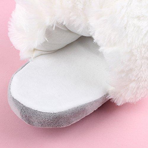 Pistoni Pantofola 41 Pantofole Inverno Felpa 35 Di Yumomo E Formato Scarpe Emoji Casa Donne Unicorno Caldo Uomini Zq4WER7n0