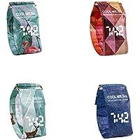 Per Relojes Papeles Impermeables con Pantalla LED Relojes para Pulsera Creativos Regalo para Cumpleaños para Niños
