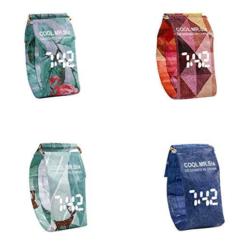 Yunt-Orologio-di-carta-creativa-orologio-da-polso-impermeabile-in-carta-digitale-da-polso